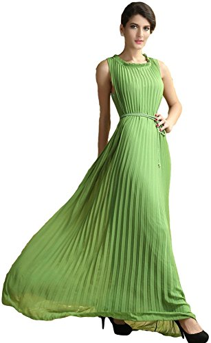 Fancy MeDamen Kleid Grün Grün