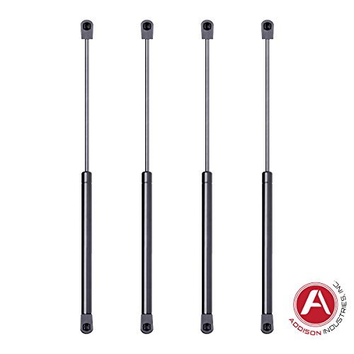 Addison Top Quality 17 Inch Gas Spring, 60 LBS (267 Newton) Force Each, Set of 4, Gas Strut Gas Prop Gas Lift Support Lift Strut For RV Motorhome Trailer Fifth Wheel Camper Saddle Box Tool Box Lid