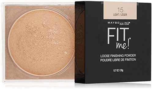 Maybelline Fit Me Loose Finishing Powder, Light, 0.7 oz. - Fit Face