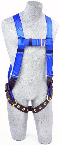3M Protecta First AB17550, 5-Point Adjustment Harness, With Back D-Ring, Universal, 310-Pound, Blue/Black by 3M Fall Protection Business