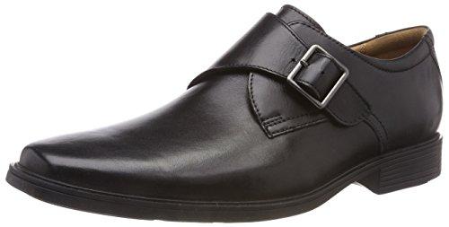 Leather black Noir Homme Style Tilden Mocassins Clarks Iw8YXY