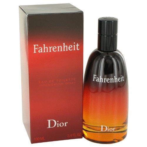 Fahrenheit cologne 34 oz eau de toilette spray by christian dior for men