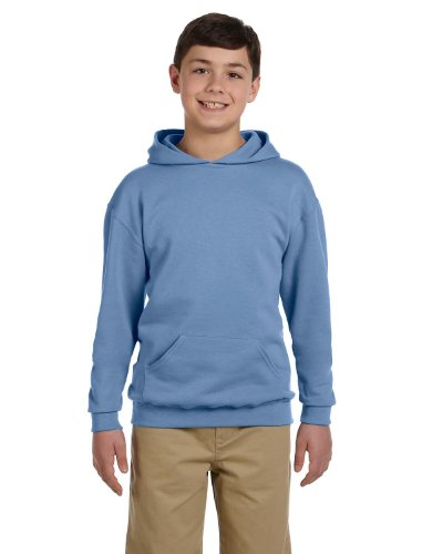 Jerzees Youth 8 oz NuBlend 50/50 Pullover Hoodie 996Y gold M