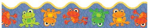 Carson Dellosa Funky Frogs Borders (108161)]()