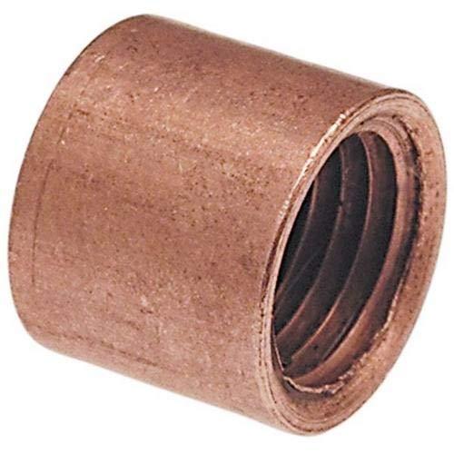 - Nibco 618-3 Wrot Copper Flush Bushing, 1/2