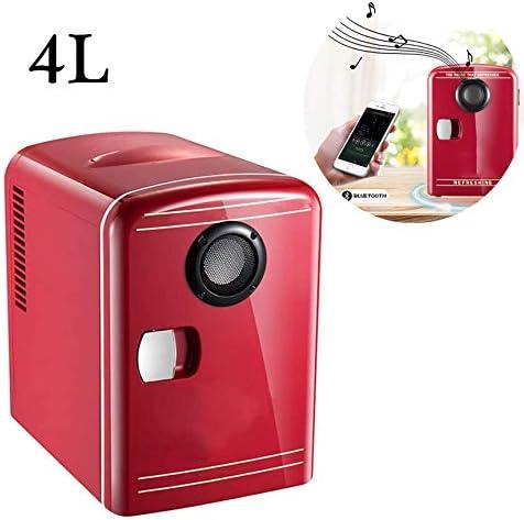 ミニ冷蔵庫4リットル/ 6缶ポータブルAC220V(AC110V)/ DC 12V車、住宅、オフィス、寮のための熱電システムクーラーとウォーマーを搭載