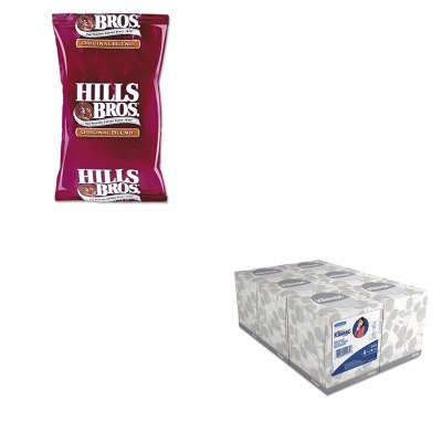kitkim21271ofx01101-value-kit-hills-bros-original-coffee-ofx01101-and-kimberly-clark-kleenex-white-f