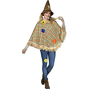 Fun World – Scarecrow Adult Poncho