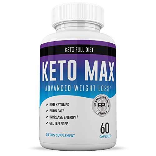 Best Keto Max Diet Pills - Ketogenic Keto Weight Loss Pills for Women and Men - Keto Diet Supplement BHB Salts - Ketosis Keto Supplement Exogenous Ketones - Keto Pills Weightloss 60 Capsules