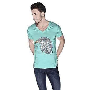 Creo Eagle Animal T-Shirt For Men - L, Green