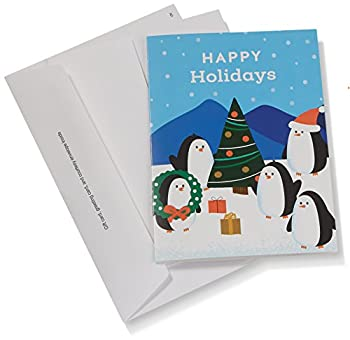 Amazon.com Gift Card In A Greeting Card (Holiday Penguins Design) 2