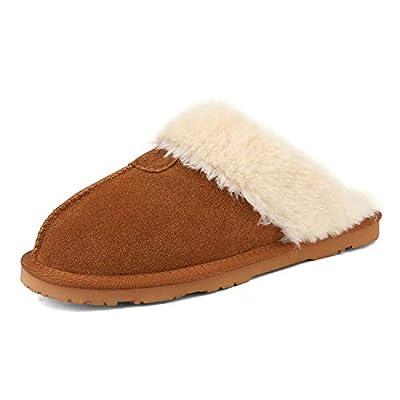 DREAM PAIRS Women's Cozy Indoor Outdoor Winter House Slippers | Slippers