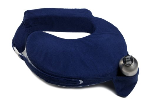 My Brest Friend Nursing Pillow Deluxe Slipcover – Machine Washable Breastfeeding Cushion Cover - pillow not included, Navy