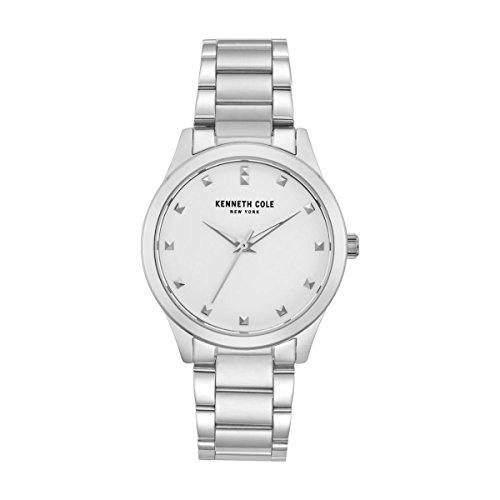 Kenneth Cole Reloj Analógico para Mujer de Cuarzo con Correa en Acero Inoxidable KC50016003: Amazon.es: Relojes