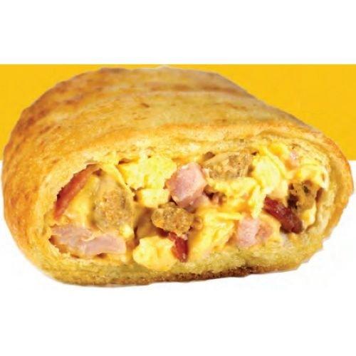 Day N Night Bites 3 Meat N Egg Breakfast Calzone, 5 Ounce - 12 per case.