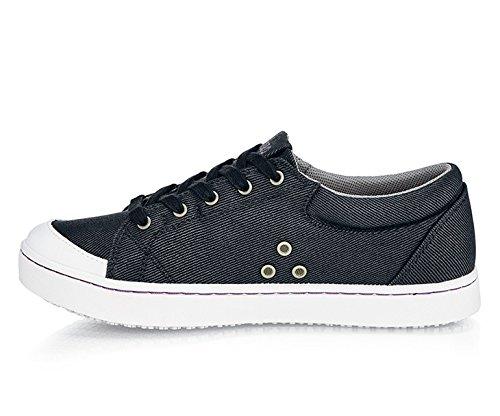 2 Sur blanc 2 5 5 M30390� Pour Chaussures 5 nbsp;uk Chaussures Antidérapant Noir Maven Femme Crews nbsp;mozo Toile wATOqn1v