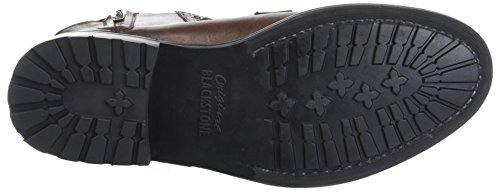 Om93 Stivali Uomo Blackstone DBR Brown Marrone Dark 8qZx70