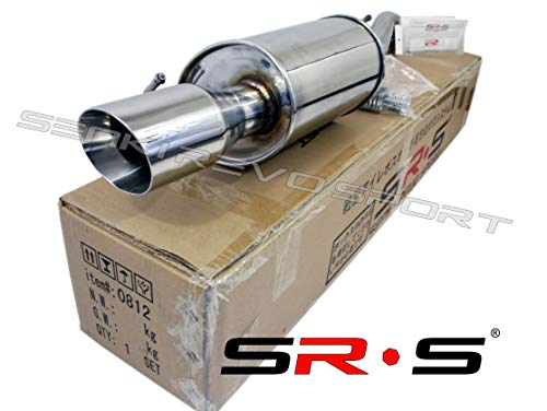 (SRS Axleback Exhaust FOR Toyota COROLLA E170 1.8L 2014-2019)