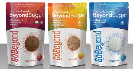 COMBO PACK GoBeyond Foods Natural Sweetener Island Sweet, Coconut Sweet and Heavenly Sweet (3x 8oz bags)