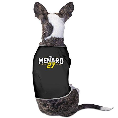paul-menard-racing-driver-black-dog-sweater-breathable-pet-supplies