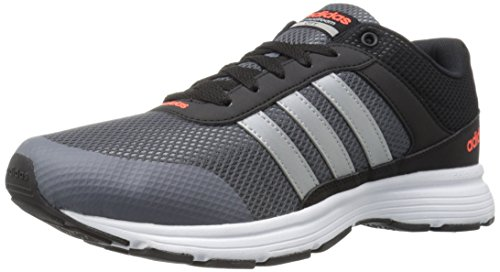 adidas Performance Men's Cloudfoam Vs City-m Running Shoe Black/Matte Silver/Onix 10.5 M US