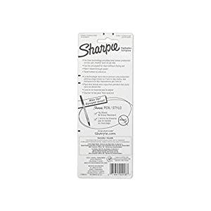 Sharpie Accent Gel Highlightes, Fluorescent Yellow, 2 Highlighters (1780473)