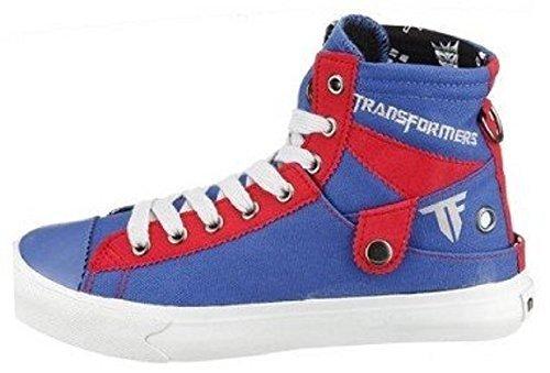 Pour Nat Transformers Bleu 2 Femme Baskets 01n0ftY6q
