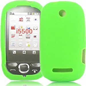 Silicone Shell Case Cover For Samsung Europa i5500 / Green