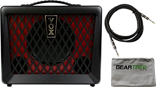 Vox VX50BA Compact 50 Watt Bass Combo Amplifier w/ Cable and Geartree Cloth by V O X