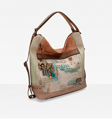 Pocket Backpack Anekke Venezia Beige