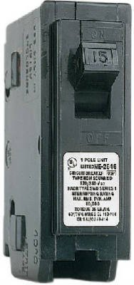 Homeline Circuit Breaker 15 Amp Cd by Schneider Electric Usa Inc