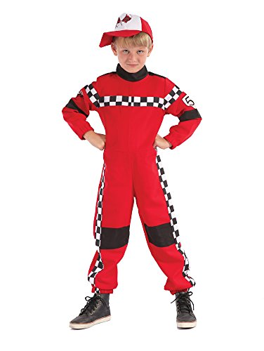 Bristol Novelty Racing Driver Costume (L) Childs Age 7 - 9 Years (F1 Kids Costume)