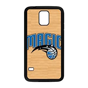 The logo of NBA for SamSung Galaxy S5 Black Case Hardcore-8
