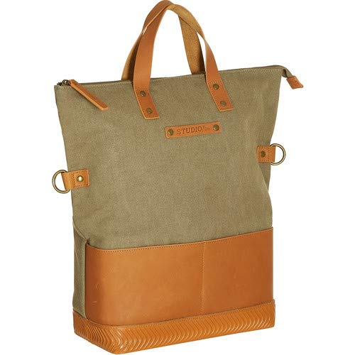 SOLETOTE/26 Tote Bag (Khaki/Saddle) [並行輸入品] B07Q21HM1W