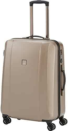 bd0e2c19e Titan Xenon Deluxe Medium 27'' Hard-side Expandable Spinner Luggage,  Champagne