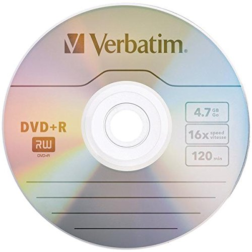 "Verbatim America, Llc - Verbatim Dvd+R 4.7Gb 16X 10Pk Bulk Box - 120Mm2 Hour Maximum Recording Time ""Product Category: Storage Media/Optical Media"" from Generic"