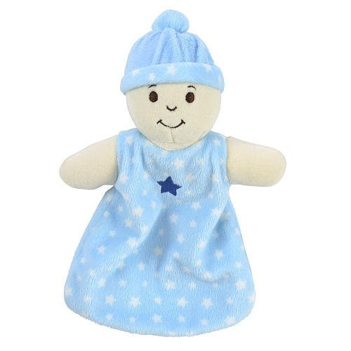 Babies R Us Security Blanket - Light Blue by Babies R Us [並行輸入品]   B015GDZYYC