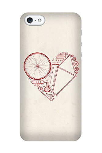 iPhone 4/4S Coque photo - Amour Bike