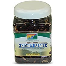 Mother Earth Products Dehydrated Fast Cooking Kidney Beans, Quart Jar