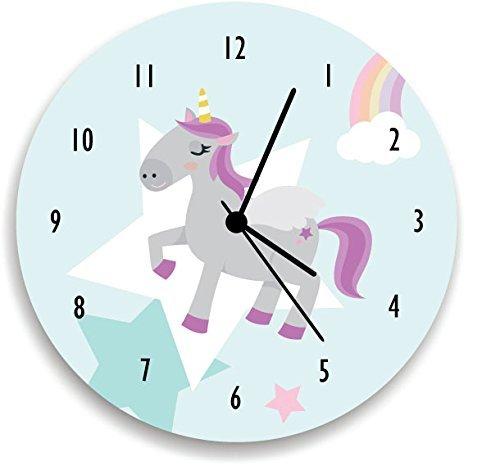 Amazon.com: Wall Clock unicorn , Unicorn wall art, Unicorn Nursery ...