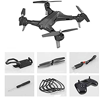 RC Drone Mini Foldable Selfie Drone with WiFi FPV 0.3MP or 2MP Camera Altitude Hold Quadcopter RC Drones HD RC Helicopter,200w WiFi Camera
