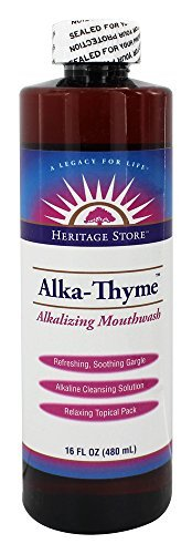 Heritage Products Alka Thyme Mouthwash 16 Oz