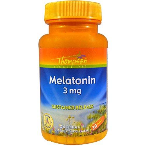 Amazon.com: Thompson Melatonin -- 3 mg - 30 Tablets: Health & Personal Care