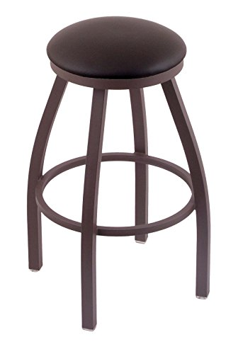 41bBw5%2BlzNL - Holland-Bar-Stool-Co-802-Misha-25-Counter-Stool-with-Bronze-Finish-and-Swivel-Seat-Allante-Espresso