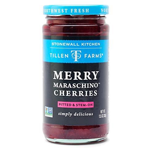 Tillen Farms Merry Maraschino Cherries, 13.5 oz (Pack of 6)