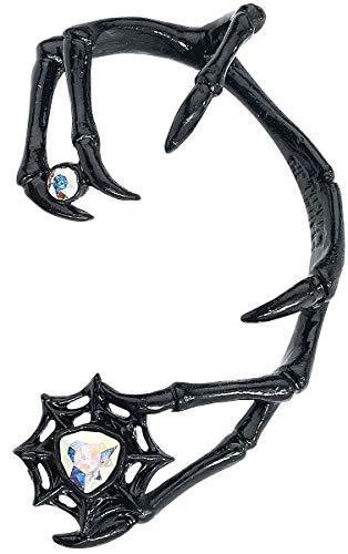 Alchemy Gothic Demon Earring (Black)