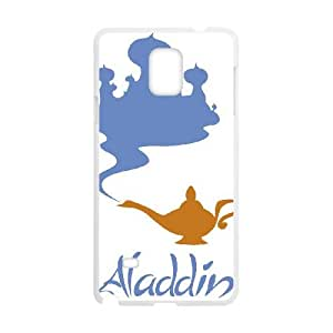 Funny Aladdin Samsung Galaxy Note 4 Cell Phone Case White Cool Witty Humor Maverick CYGJ6315828595