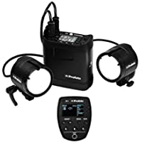 Profoto B2 250 AirTTL Location Kit with B2 250 AirTTL Power Pack, 2x B2 Head, 2x Li-Ion Battery, Carrying Bag, Location Bag, Battery Charger - Bundle with Profoto Air Remote TTL-C Transmitter (Canon)