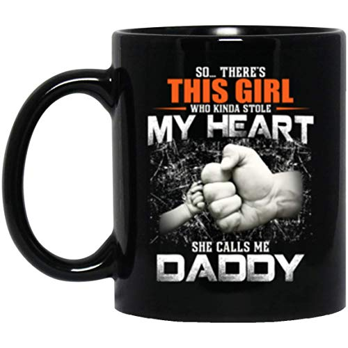 Family Coulple Mug She Calls Me Daddy Cute Fist Bump Mug For Dad