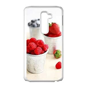 Delicious red wild fruits fashion phone case for LG G2